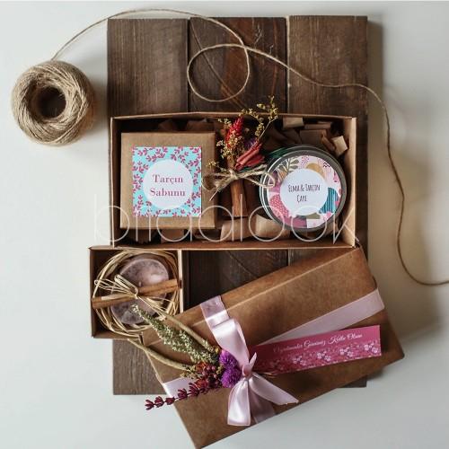 Elma Çayı & Tarçın Sabun Set