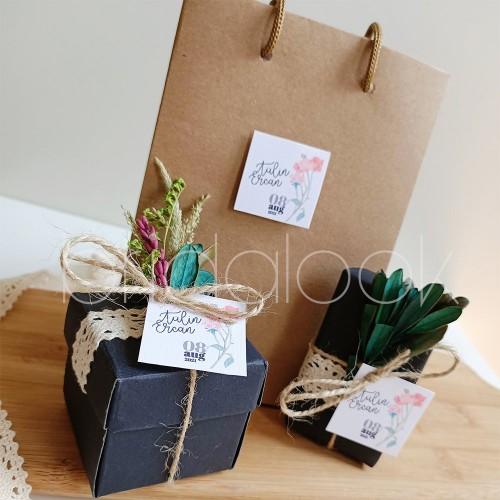 Çantada Badem Şekeri & Sabun Set