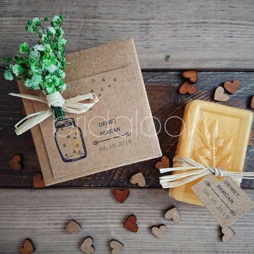 Bal Sarısı Kutu Butik Sabun