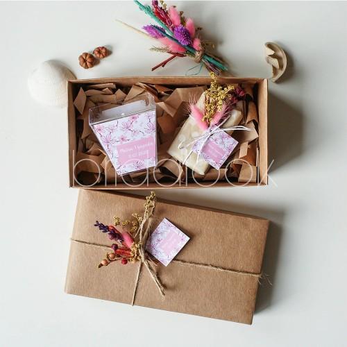 Doğum günü hediye set Kokulu Mum&Sabun set 2