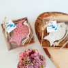 Asılabilir Balık Desenli Hediyelik Sabun  Kraft Kutulu