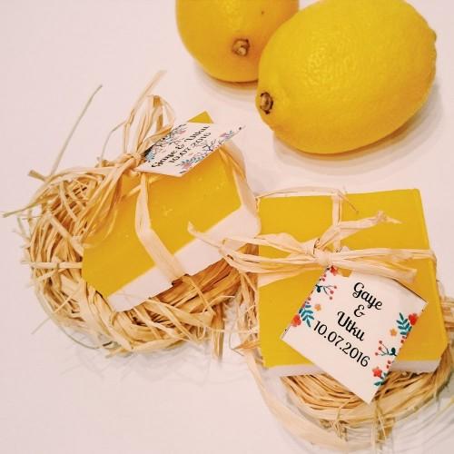 Portakallı ve Limonlu Sabun