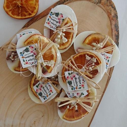 Portakal&Tarçın Oval Sabun