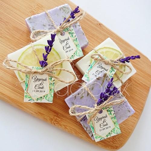 Lime ve Lavantalı Nikah Sabunları